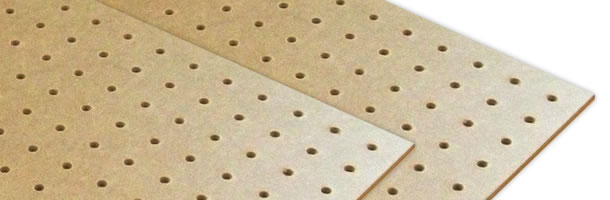 Lion perforated board